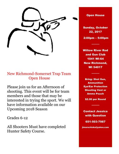 Flier for Trap Team