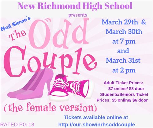 The Odd Couple information poster