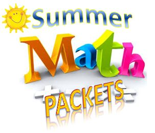 MIDDLE SCHOOL SUMMER MATH PACKETS 2019-20