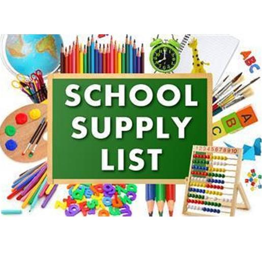 2020-21 MIDDLE SCHOOL SUPPLY LISTS