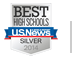 Ranked one of US News Best High School for 2014